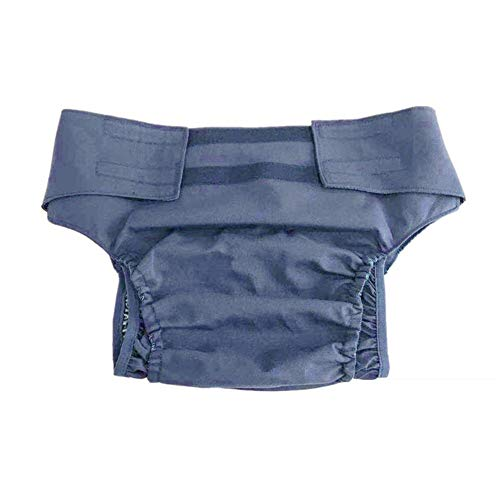 Sneldrogende, wasbare volwassen katoenen luiers, lekvrij, ademend incontinentie-ondergoed, klittenbandsluiting