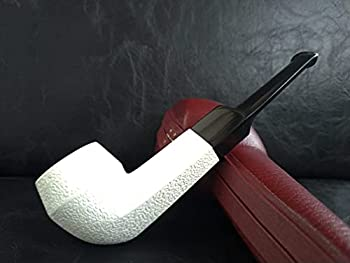 Bulldog Meerschaum Pipe rusticated handcarved by CPW #1112