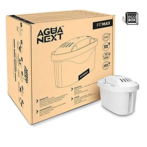 AGUANEXT Cartouche Filtrante, lot de 12 filtri, compatible avec brita carafe filtrante, Filtre à Eau Potable, Maxtra.
