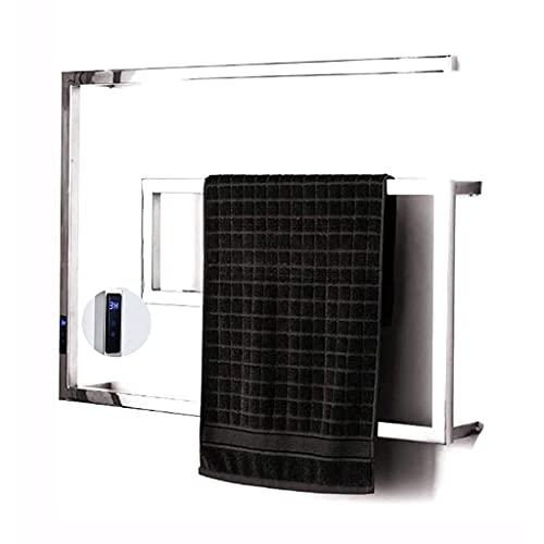 QTWW Toallero Multifuncional Toallero eléctrico Inteligente Rejilla Calentador de Toallas de baño...