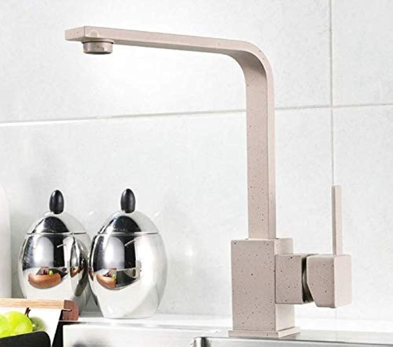 Oudan Kitchen Faucets Brass Kitchen Sink Faucet 360 redating Swivel Faucet Single Handle Mixer Black Aeg171-33, A (color   D, Size   -)