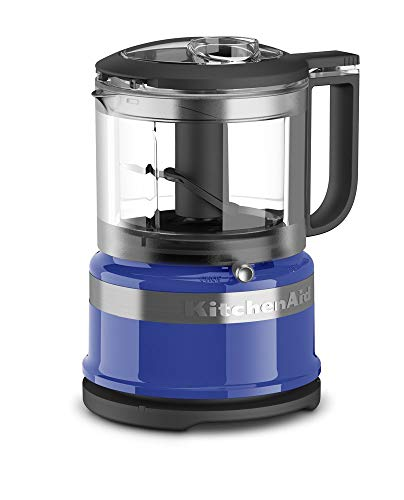 KitchenAid 3.5-Cup Mini Food Processor | Twilight Blue (Renewed)