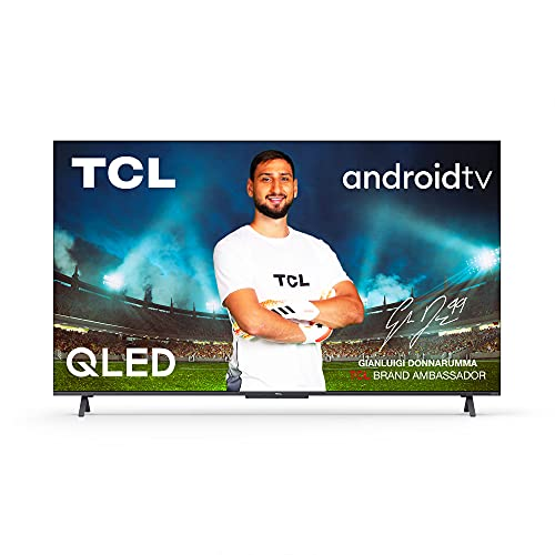 TCL 50C721, 50 Pollici QLED TV, 4K Ultra HD, Smart Android TV con Audio Onkyo