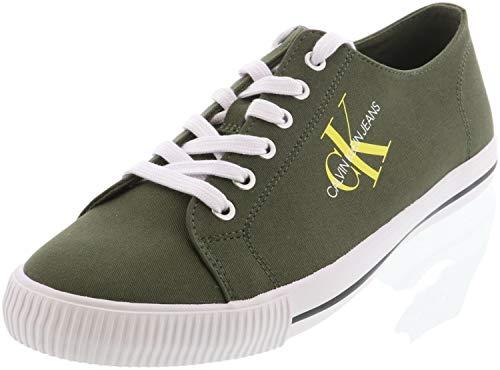 Calvin Klein Jeans B4S0670 Sneakers Hombre Verde obscuro 43