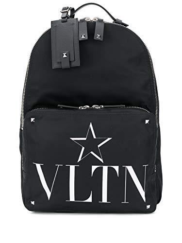 Luxury Fashion   Valentino Garavani Heren TY2B0340MFG0NO Zwart Synthetische Vezels Rugzak   Lente-zomer 20