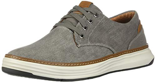 Skechers mens Moreno Oxford, Taupe, 12 US