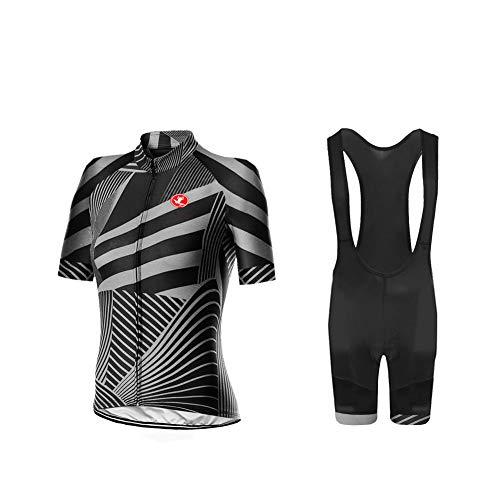 UGLY FROG Uglyfrog Neue Radsport Anzüge Herren Kurzarm Trikots+Bib Kurze Hosen Gel Pad Summer Cycling Kit Triathlon Clothes für Radsport Rennrad Einzigartig Designs