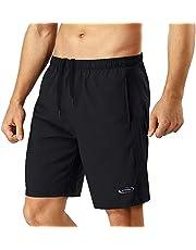 Sportbyxor män korta byxor löpbyxor korta byxor män träningsbyxor shorts sport joggingbyxor män fotbollsbyxor pojkar snabbtorkande med väska löpshorts för fitness utomhus sommar svart