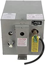 Whale S600 Water Heater, 6-Gallon Capacity, 120V, Rear Heat Exchanger, 13 Inches W x 19 Inches D x 13 Inches H, One Size, Galvanized Steel