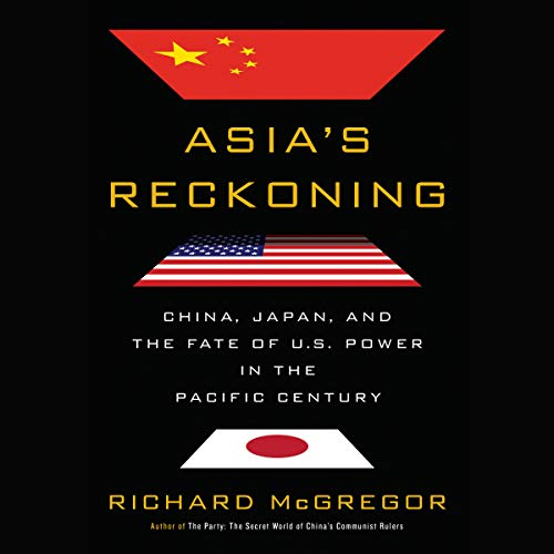 Asia's Reckoning audiobook cover art