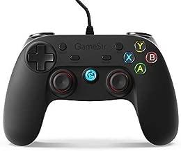 GameSir G3w - Mando con Cable de Vibración Doble, Conectado por Cable para PC (Windows 7/8/10) & PS3 & Android (Smartphone/Tableta / Smart TV/TV Box)