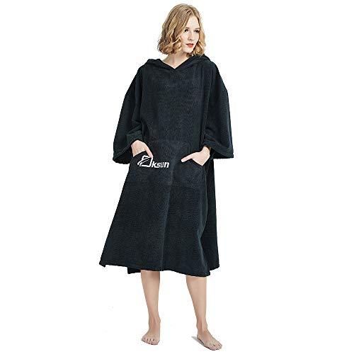 Oksun Handtuch Poncho Andern Sie Robe,Surfen Wechseln Handtuch Robe Mit Kapuze,Schwimmen Schnorchel Strand Poncho