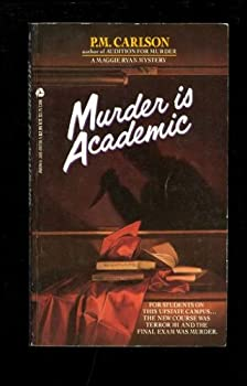Paperback Murder Is Academic Book