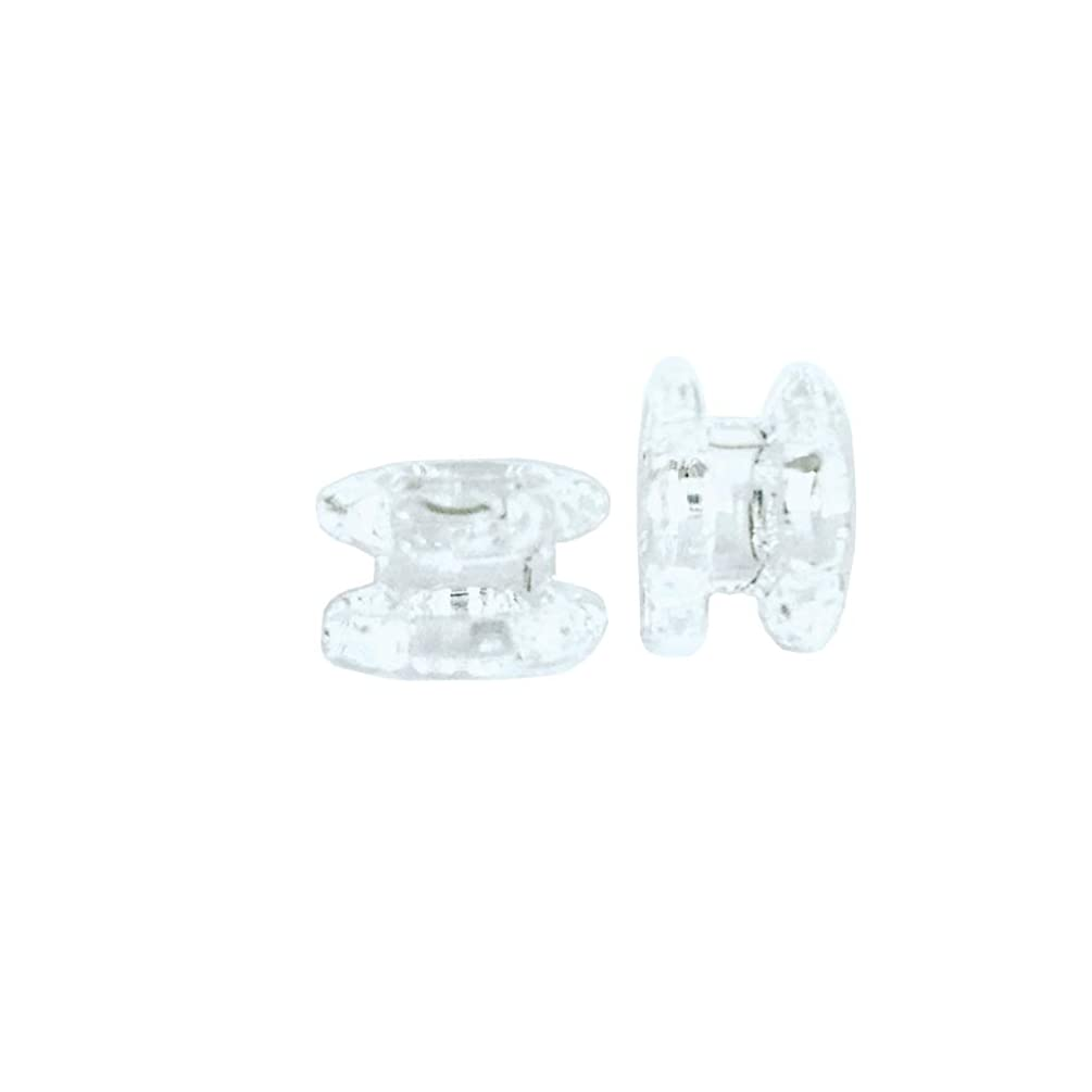 The Press Club | Handmade Solid Quartz Diamond Shape Knot Beads | 2 Pack | 2 Layer | Multiple Layers Available