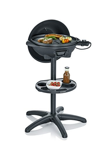 SEVERIN PG 8541 Barbecue-/Standgrill (2.000W, Grillfläche, Ø 41 cm) schwarz