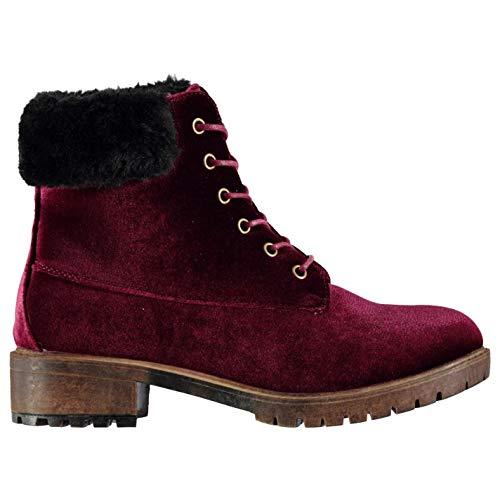 Dolcis Joan enkellaarzen Womens rood schoeisel schoenen (UK3) (EU36)