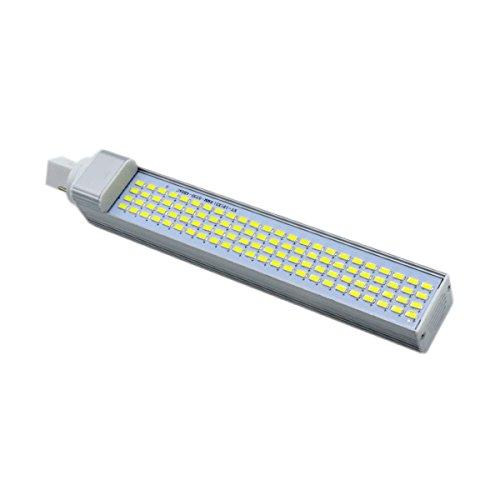 Led-maïslicht G24 5730SMD 96 LED 20 watt gelijkwaardige vervanging 200 W halogeenlamp horizontale stekkerlamp voor gebruik in inbouw-, mobiele onderdelen, familie-, woonkamer-, keuken (AC 85-265 V) reservebir