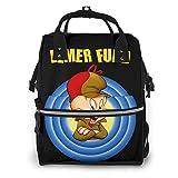 huatongxin Elmer Fudd Looney Tunes Mummy Mochila Bolsas de paales elegantes con multifuncin para beb Bolsa para viajar