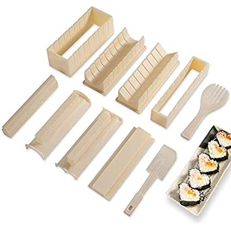 Japanese Sushi Maker Rice Mold Nigiri Mould Bento DIY Tool Convenient Making Kit