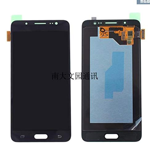 Ochoos Super AMOLED - Pantalla LCD para Samsung Galaxy J5 2016 J510 J510F J510FN J510M J510Y, negro