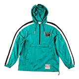 Mitchell & Ness Vancouver Grizzlies Packable Nylon Anorak Jacke -