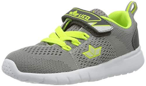 Lico Suman Vs, Chaussures de Marche nordique homme - Gris (Grau/Lemon Grau/Lemon) - 41 EU