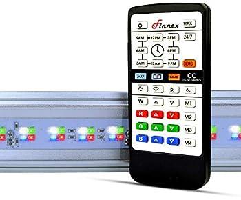 Finnex Planted+ 24/7 ALC Aquarium LED Light Automatic Sunrise and Sunset 12 Inches Aluminum  ALC-12