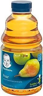 Best gerber pear juice Reviews