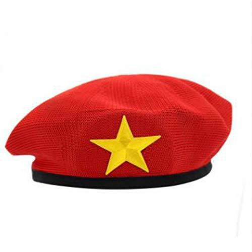 militair muts vintage ouderschap gebreide militaire hoed badge Sailor pet party kostuum feest feest feest hut muts muts muts vrouw schilder hoed