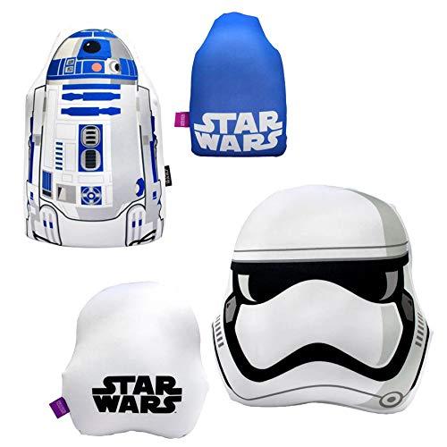 Kit Almofadas R2D2 Stormtrooper Star Wars Produto Oficial
