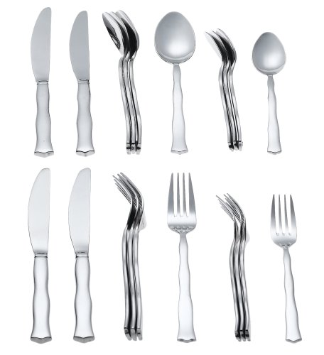 Godinger Jessica 20 Pc. Set of Stainless Flatware, Service for 4
