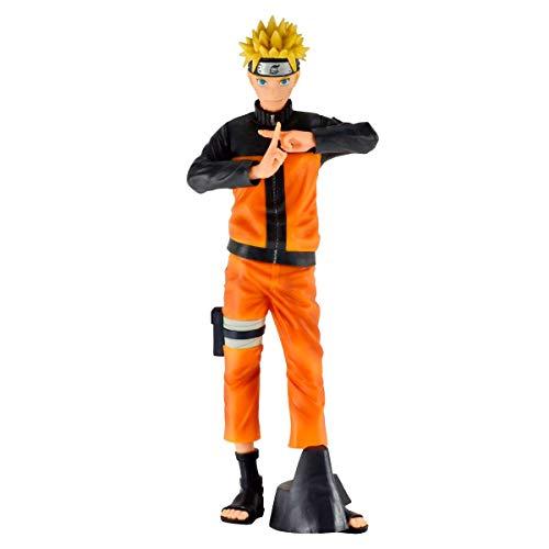 Figure Naruto Shippuden Grandista Nero Uzumaki Naruto Ref: 29691/29692, BANDAI BANPRESTO