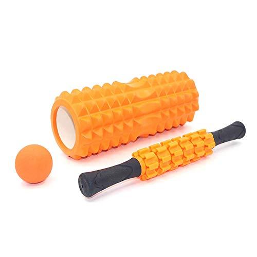 WCY Foam Roller Säule Muskelentspannung Roller Massage Artifact Fitness Rad eng anliegendes Bein Halten Fascia Yoga Geräte Massage-Sets, Massagerollen for die Muskeln yqaae