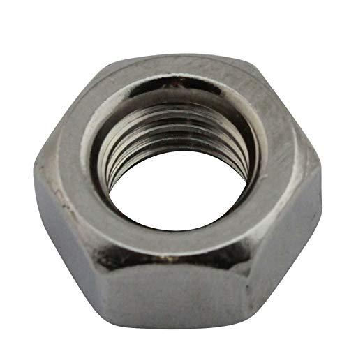D2D | VPE: 10 Stück - Sechskantmuttern - Größe: M12 - DIN 934 / ISO 4032 - Edelstahl A2 V2A | Sechskant-Mutter