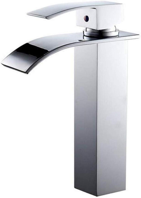 Taps Kitchen Sinkheightening Type Deck Mount Waterfall Bathroom Faucet Vanity Vessel Sinks Mixer Tap