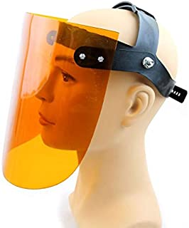 SYMG Upgraded Super Soft Protective Welding Mask, Transparent Welding Mask, Plexiglass Protective Screen, Anti-impact, Anti-splash, High Temperature Resistance,Seamless dust mask face mask turban mul