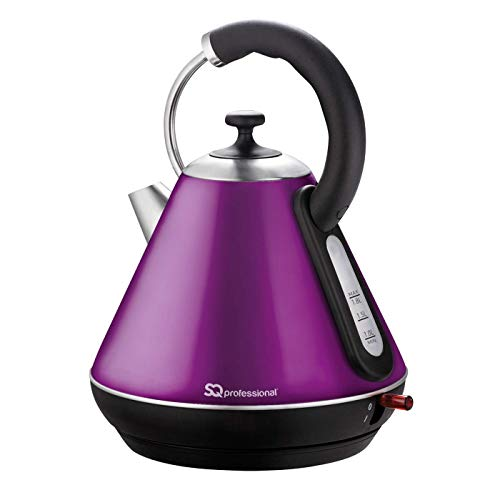 SQPro Legacy Electric Kettle 1.8 L (Amethyst Purple) by SQ Professional