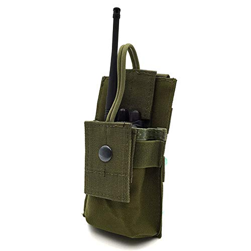 Senmir Walkie-Talkie Borsa, Multi-Funzione Sacchetto di Supporto, Universal Multi-Function Walkie Talkie Sacchetto per GPS Phone Radio Bidirezionale Walkie-Talkie