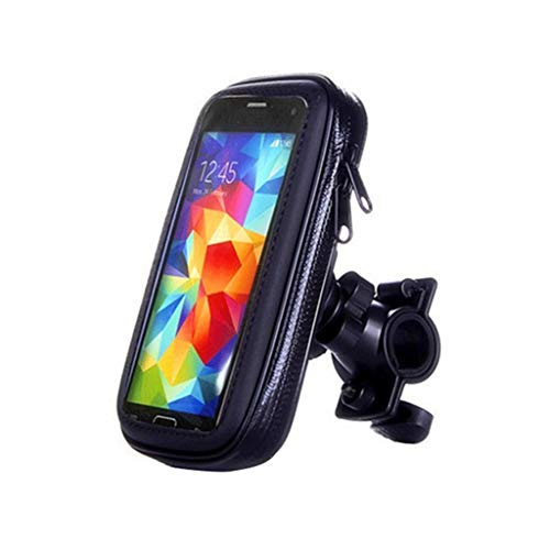 ZHAOSHOP Bicicleta Motocicleta Teléfono Teléfono Impermeable Bicicleta Teléfono Funda Bolsa para iPhone XS XR X 8 7 Samsung Mobile Stand Soporte Scooter Funda (Color : L)