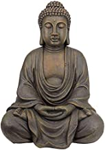 (Medium) - Design Toscano Meditative Buddha of the Grand Temple Garden Statue
