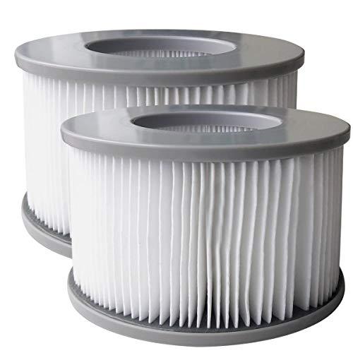 Ersatz-Filterkartusche Filter 2er Set (ohne Basis) für alle BRAST MSpa Whirlpools Modelle ab 2020