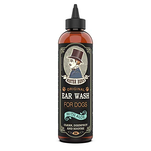 MISTER BEN'S Original Ear Wash w/Aloe for Dogs - Most Effective &...
