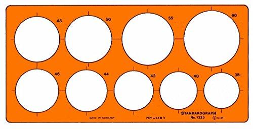 Kreisschablone 38-60mm