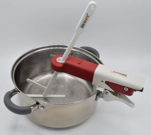 STIRMATE VS Smart Pot Stirrer - Variable Speed, Self-Adjusting, Powerful, Quiet, Cordless