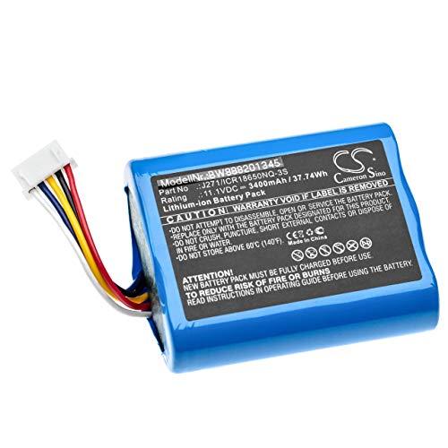 vhbw Batería Recargable Compatible con Bowers & Wilkins T7 Altavoces, Cajas acústicas,...