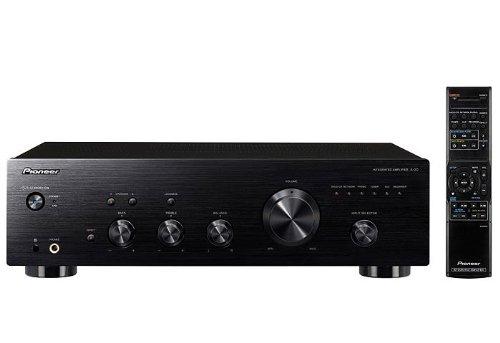 Numero canali: 2 Potenza di uscita per canale: 50 W Connessioni: ingresso - SACD/CD, fono, aux, rete, registratore, sintonizzatore; uscita - registratore, cuffie