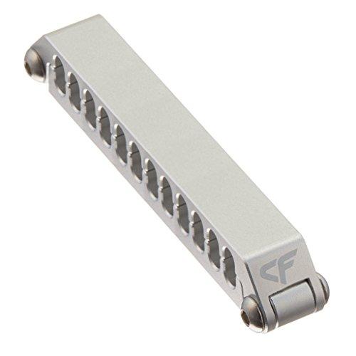 Nanoxia 900500430 Coolforce Kabelclip CC-24, Für Kabel Mit 24 Einzelnd Gesleevten Kabelsträngen, Aluminium