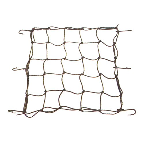 TOPEAK Cargo Net, Rete Elastica Unisex Adulto, Nero, Unica