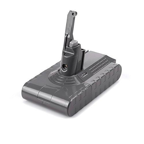 OPSON 21.6V 3000mAh Ersatz Akku für Dyson V8 Schnurfreier Vakuum-Handstaubsauger