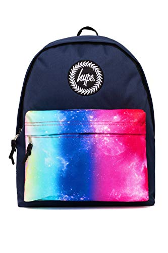 Hype Rucksack Navy Rainbow Fade Pocket